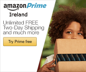 Amazon Prime in Ireland - now with Free Priority Delivery